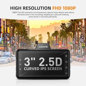Image 3 - Azdomm01 برو داش كام 3 بوصة 2.5D IPS شاشة مسجل سيارة DVR كامل HD 1080P سيارة مسجل فيديو داشكام داش كاميرا سجل