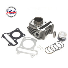 39MM Cylinder Piston Ring Gasket Kit GY6 50CC Jonway Jmstar Yiying Wangye Baotian Sunny Keeway Scooter