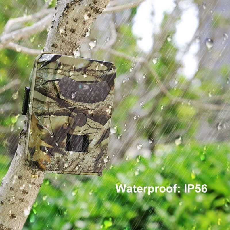 Permainan Jejak Kamera pr-100 Berburu Kamera Inframerah Pramuka Kamera Berburu Trail Kamera HD 12Mp 1080P Satwa Liar Kamera Inframerah FO