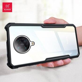 Перейти на Алиэкспресс и купить Ударопрочный чехол Xundd для Redmi K30 Pro, прозрачный мягкий чехол-подушка безопасности, чехол-перчатка для Pocophone X2 Poco F2 Pro