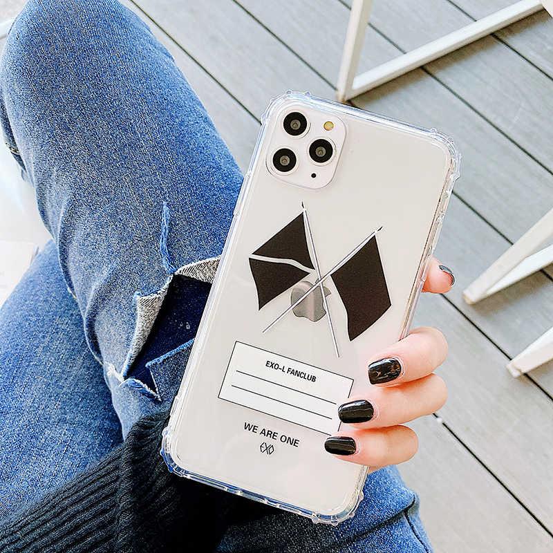 Ins Coreano Artista G Drago Frammento Del Fiore Della Margherita per Il Caso di Iphone 11 Pro X Xs Max Xr 8 7 6 più Peaceminusone Etichetta Molle Della Copertura