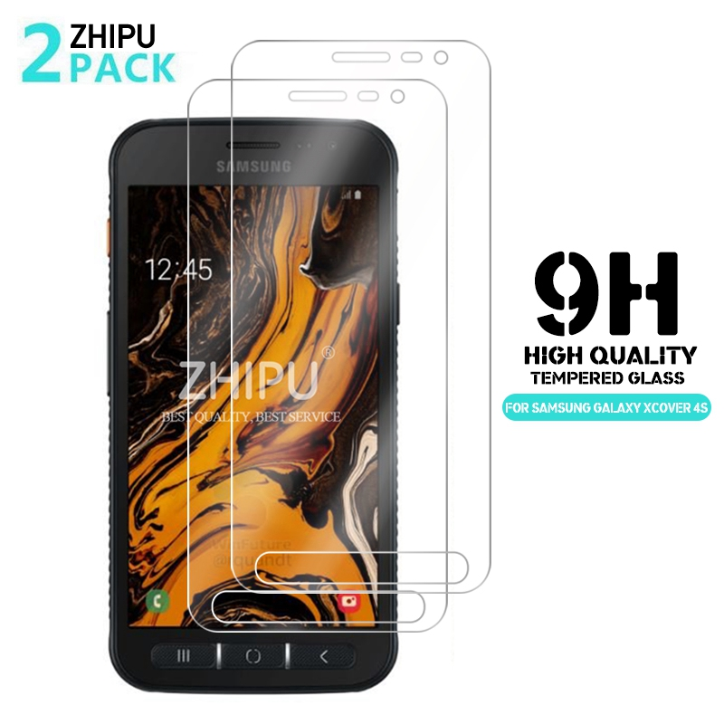 2Pcs Tempered Glass For Samsung Galaxy Xcover 5 4 4s 3 2 Screen Protector Tempered Glass For Samsung Xcover Protective Film