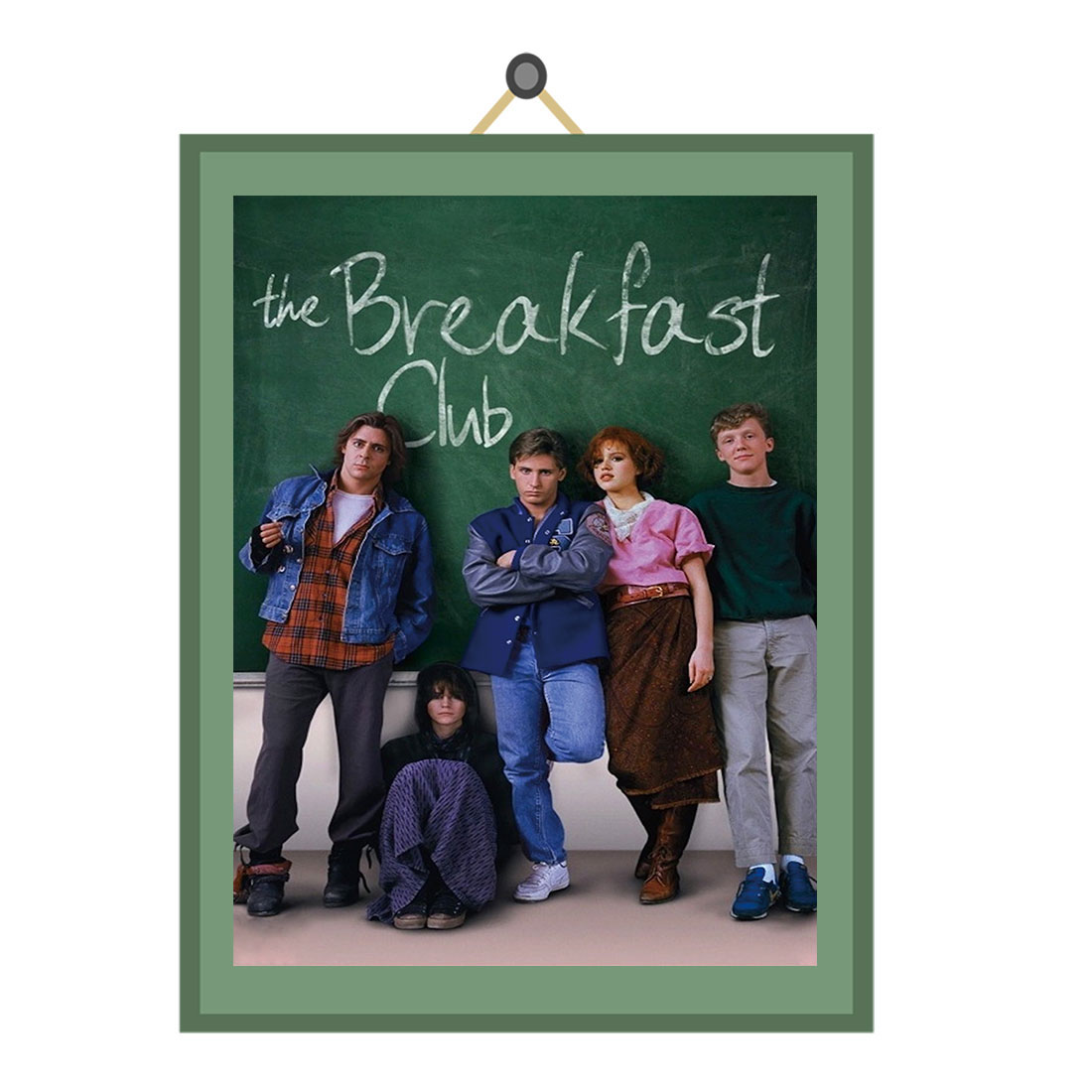 THE BREAKFAST CLUB MOVIE POSTER FILM A4 A3 ART PRINT CINEMA