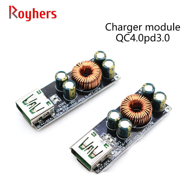 QC4.0pd3.0 Charger Module Full Protocol Mobile Phone Fast Charge Flash Charge Huawei SCPFCP Apple Fast Charge Motherboard