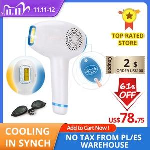 Image 1 - Lescolton 3 in 1 IPL Hair Removal ICE Cold Epilator Permanent Laser for Home Bikini Trimmer Electric Photorejuvenation Depilador