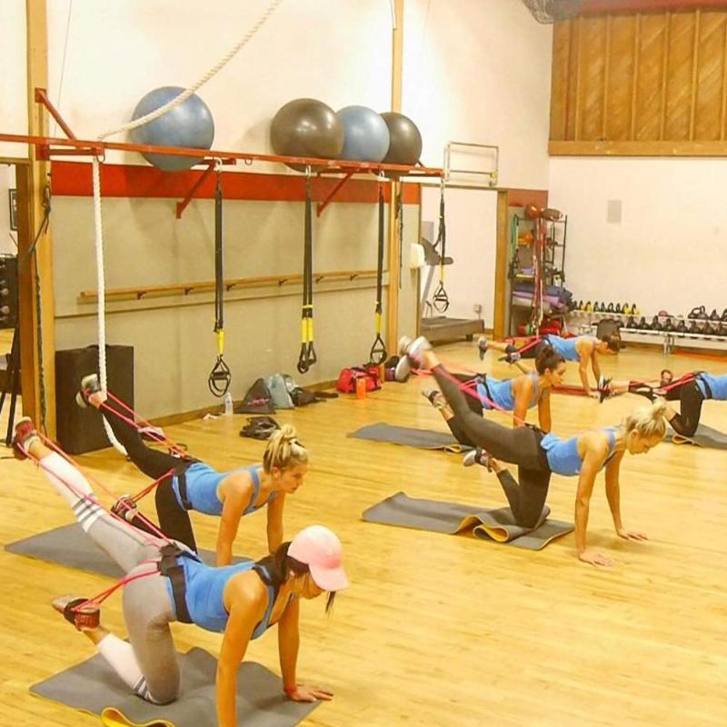 Fitness Women Booty Bands Set Resistance for Butt Legs Muscle Training Adjust Waist Belt Elastic Bands Pedal Exerciser Workout 5