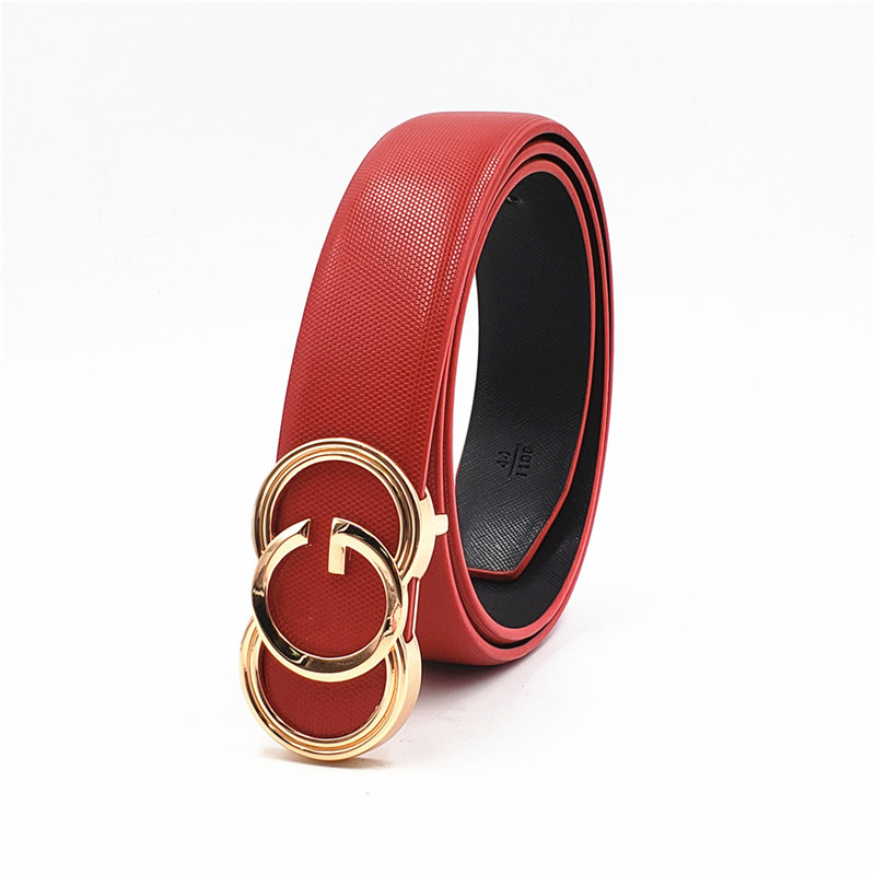Black  Belts For Men Women Smooth Buckle Designer Luxury Straps 2019 New Belt