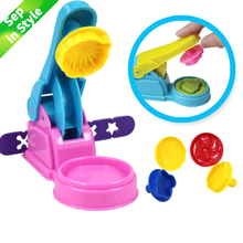 7pcs/set Polymer Clay Tool Kit Children Kids DIY Playdough Modeling Mould Clay Tool Kit Educational Toys Gift Random Color ceramic workshop clay diy paint tool set vase production educational toys clay kit pottery wheel