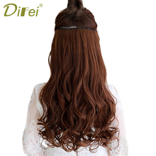 DIFEI Women Long Clip in one Piece Pieces Natural Wavy Hair Extention