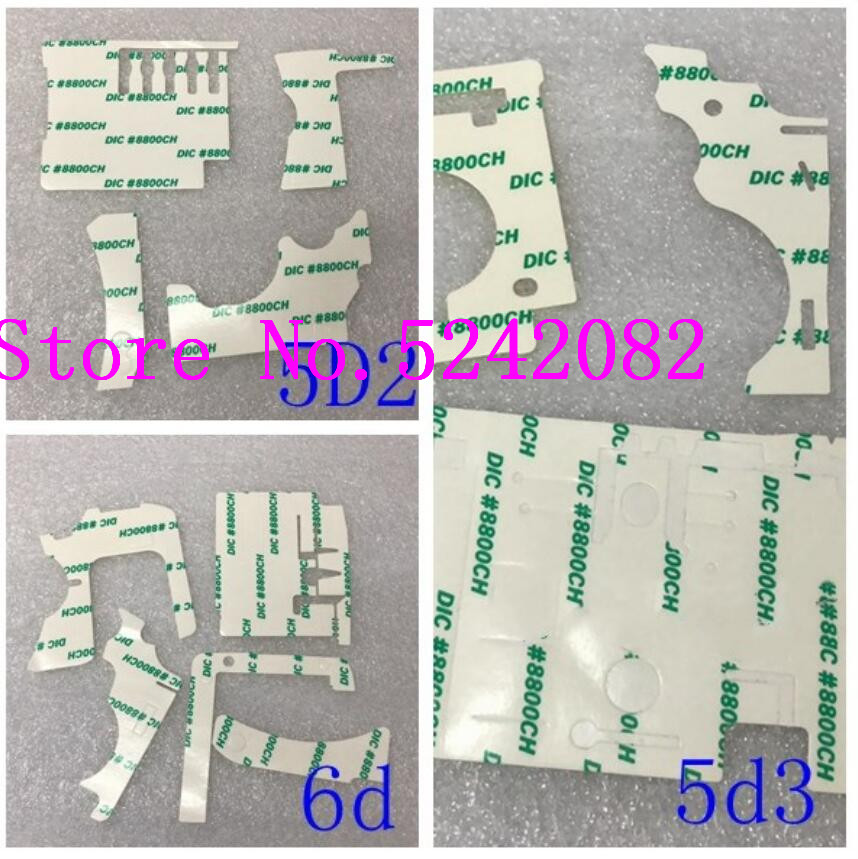 For Canon 5D2 5D Mark II 5D3 5D Mark III 6D Rubber Double-sided Adhesive 3M Adhesive Tape Camera Special Maintenance Adhesive