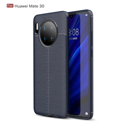 На Алиэкспресс купить чехол для смартфона shell for huawei mate 30 30 pro nova 5t case litchi leather grained luxury tpu shockproof case for honor play 3 20s back cover