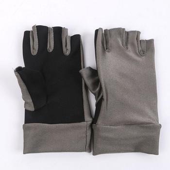 Rękawice wędkarskie HiMISS rękawice wędkarskie anty-uv bez palców rękawice wędkarskie Outdoor rękawice wędkarskie rękawice anty-uv zapewnia ochronę UV tanie i dobre opinie Fishing Gloves Pół palca Trwałe