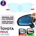Полноэкранная противотуманная пленка для зеркала заднего вида для Toyota Prius 10 20 30 50 C V Aqua 1997 ~ 2020 противотуманные пленки непромокаемые аксессуа...