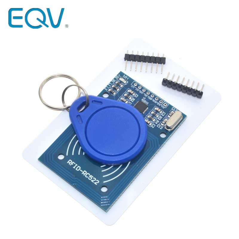 1pcs MFRC-522 RC-522 RC522 Antenna RFID IC Wireless Module For Arduino IC KEY SPI Writer Reader IC Card Proximity Module