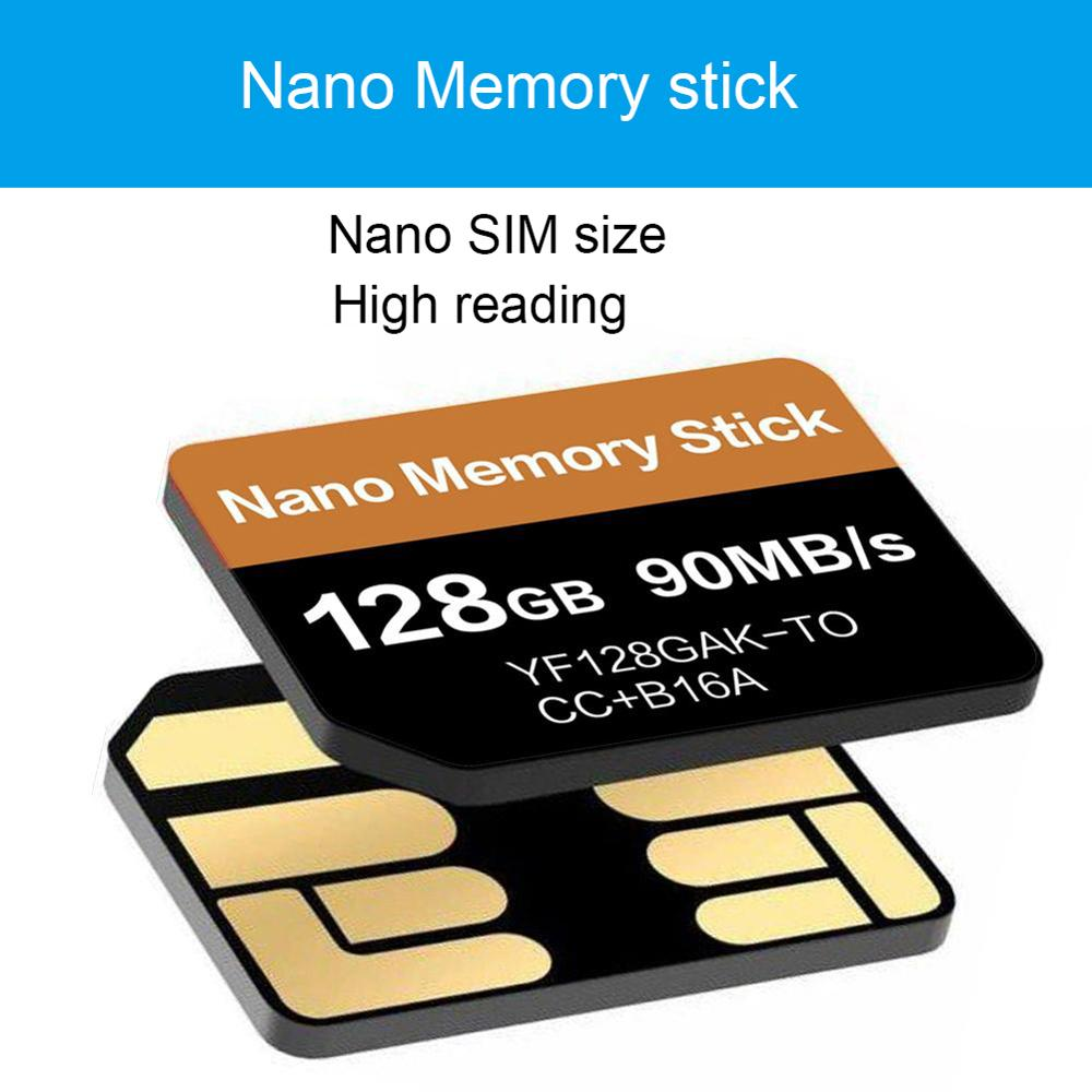 For Nano Memory Card For Huawei 128GB NM Memory Stick For Huawei Mate20 Series P30 Pro Series With NM Card Reader For Hua-Wei