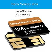 цена на For Nano Memory Card For Huawei 128GB NM Memory Stick For Huawei Mate20 Series P30 Pro Series With NM Card Reader For Hua-Wei