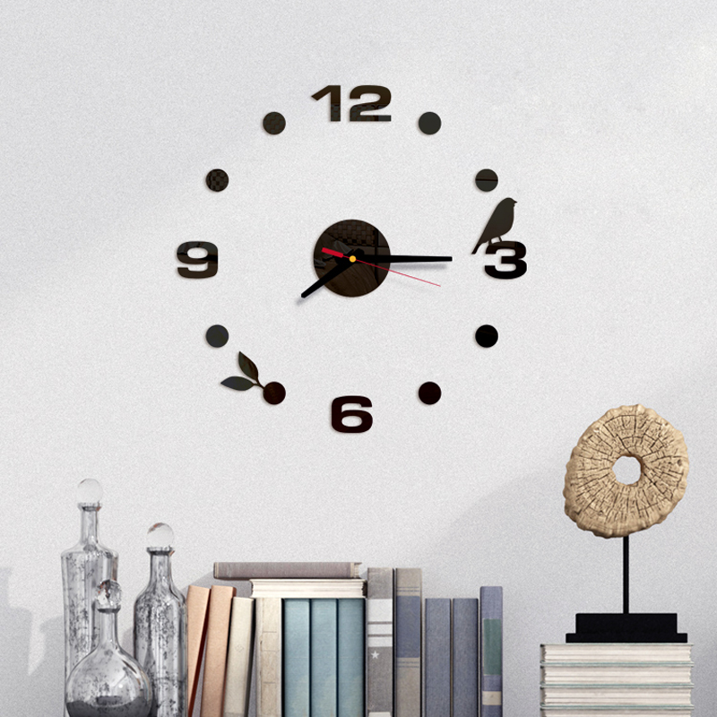 Best Top Black Modern Wall Clock For Kitchen Ideas And Get Free Shipping A77