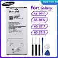 Оригинальная батарея EB-BA510ABE EB-BA510ABA для Samsung Galaxy A5 2015 2016 A5 2017 A5 2018 A510F A5100 аутентичная батарея 2900mAh