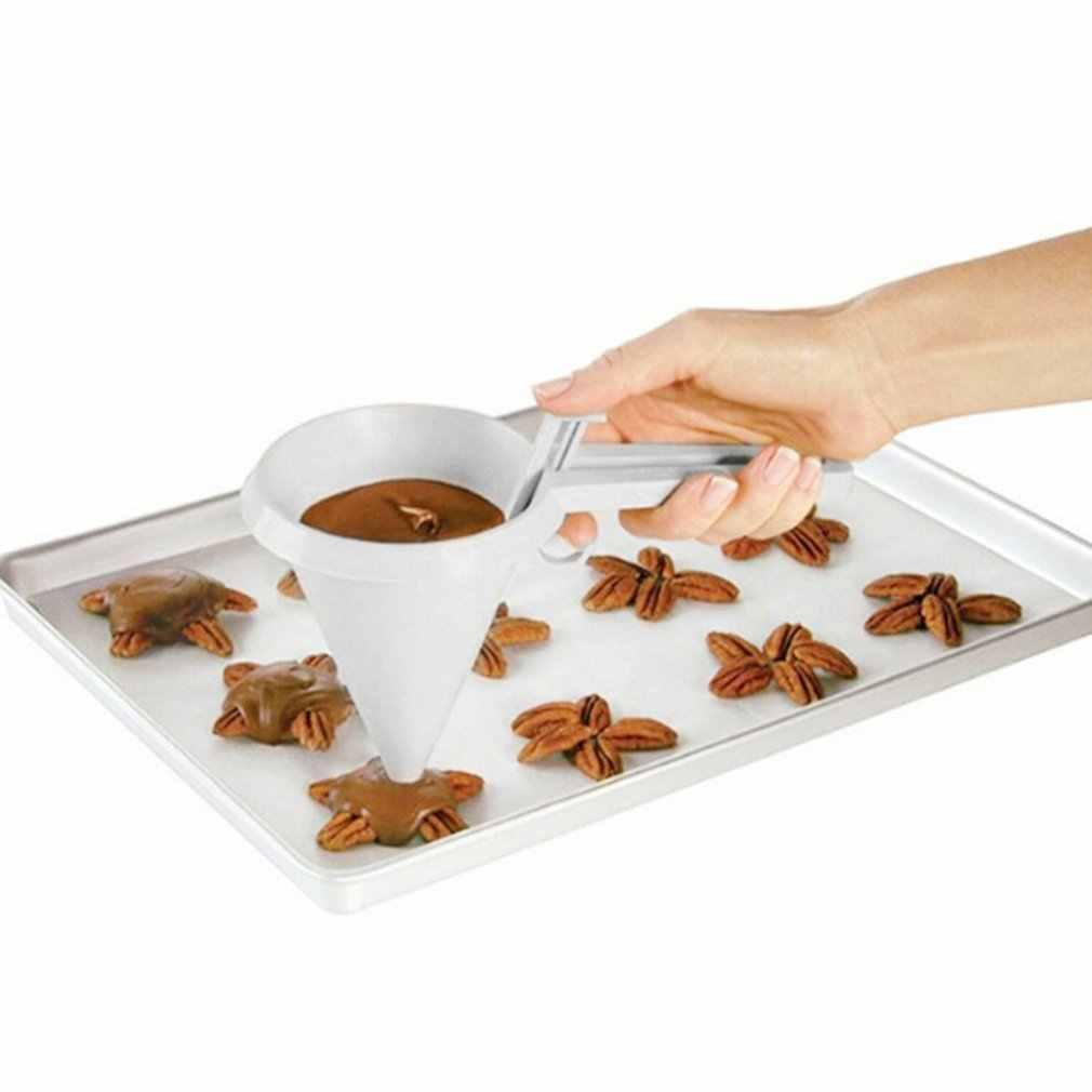 Preup Cầm Tay Làm Bánh Phễu Dụng Cụ Kem Nướng Bánh Chocolate Lỏng Đựng Bánh Ngọt Khuôn Bánh Cupcake Tỳ Hưu Dụng Cụ Nướng Bánh