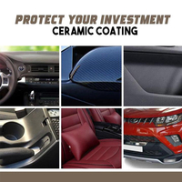 Car Dashboard Maintenance Care Leather Seat Nano Ceramic Coating Upholstery Cleaner Plastic Part Retreading Agent 2