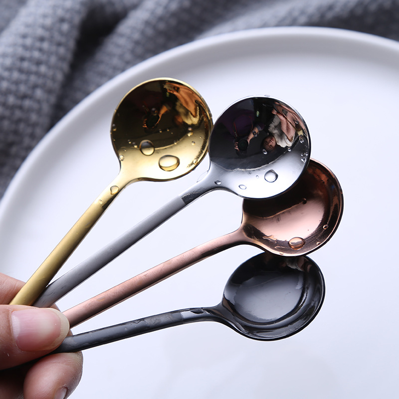 1 pcs/set coffee scoop 304 stainless steel spoon with long handle