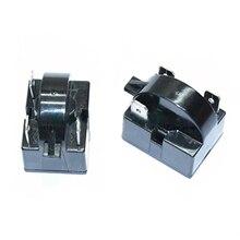 1 шт. реле компрессора холодильника стартер для QP2-15C универсальный тип три вставки 15 Ом черный