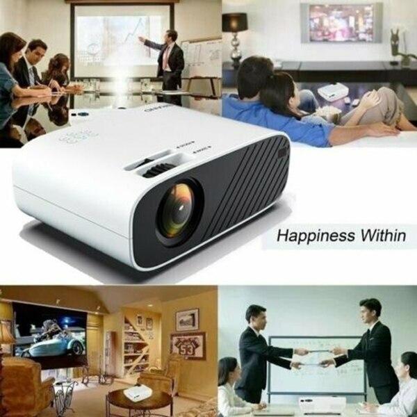 LED Умный домашний кинотеатр проектор кинотеатр Портативный HD HDMI для офиса мобильный телефон ноутбук LHB99