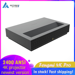 Fengmi 4K Pro laser projector 2400 Lumens beamer home theater projectors 64GB Ultra Short Throw Projection TV телевизо WiFi