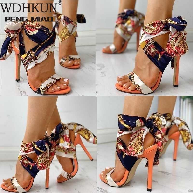 Kadın sandalet moda yüksek topuklu sandalet ayakkabı kadın Peep Toe Stiletto seksi kadın topuklu Chaussures Femme yaz kadınlar