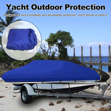 Boat Cover Yacht Outdoor Protection Waterproof Boat Cover Oxford Fabric Anti smashing Tear Proof Reflective 300D