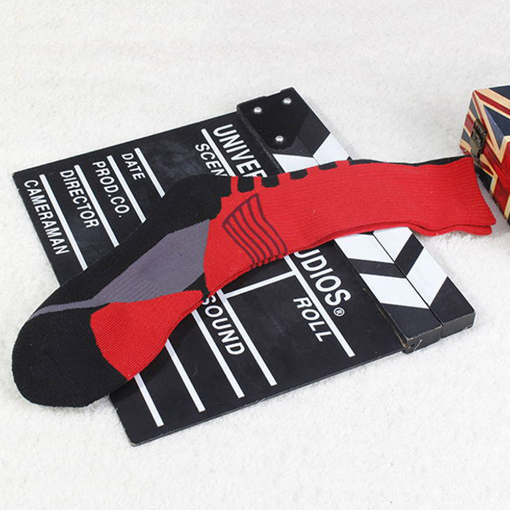 Cycling Socks Knee-High Professional Bicycle Compression Stocking Breathable Outdoor Sport Footwear Protect Running Socks BC0226 (1)