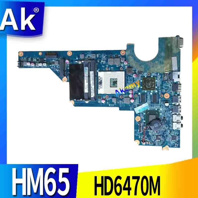 650199-001 For HP Pavilion DAOR13MB6E1 G4-1000 G4 G6 G7 Laptop Motherboard With Hm65 Chipset 100% Full Tested Ok
