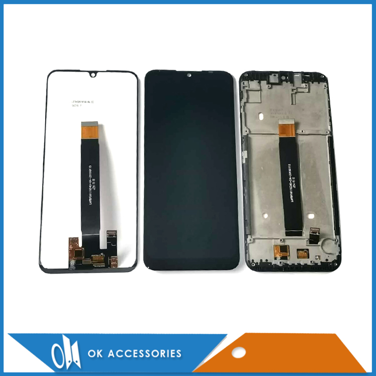 Оригинальный ЖК-дисплей с рамкой для motorola Moto E6 E6 Play E6 Plus E6s, сенсорный экран, стекло, датчик, дигитайзер в сборе