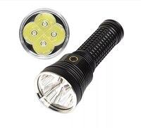 Haikelite HT70 17000lm SST70 6500k مجموعة وضع الضوء يعتم سوبر قوة مصباح يدوي 18650 بطارية-أسود 6500K