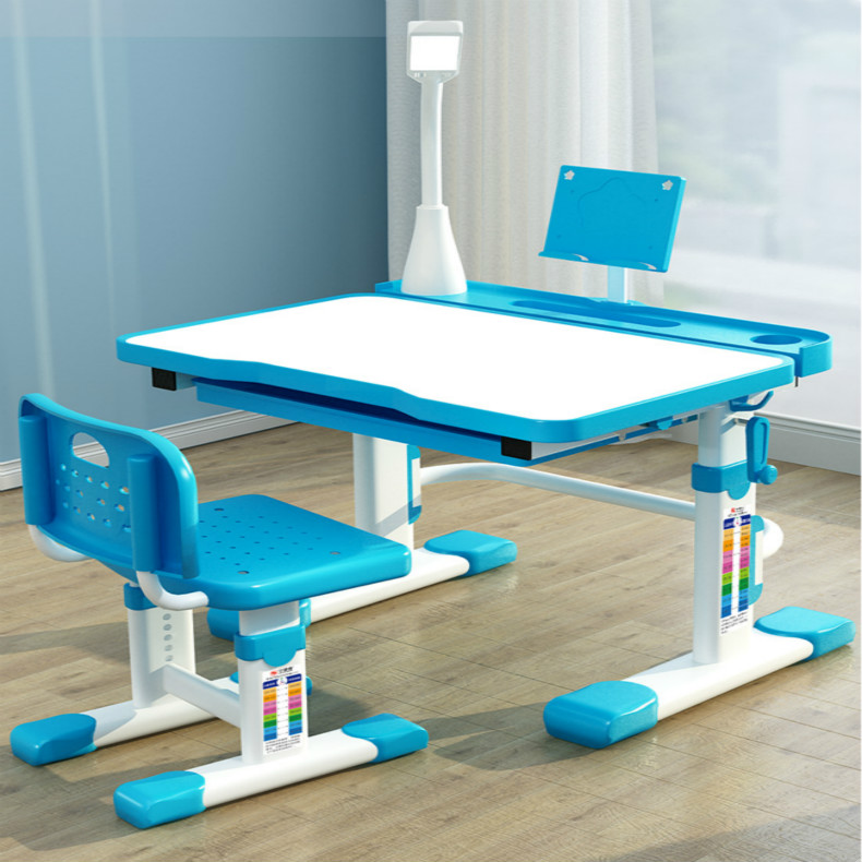 Singapore FreeChildren's Study Table Home Desk Writing Table And Chair Pupils Desk And Chair Simple Boys And Girls Rise And Fall