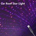 Автомобильный светильник на крышу, Звездный окружающий свет, романтическая ночная атмосферная лампа с USB, домашнее интерьерное украшение, м...