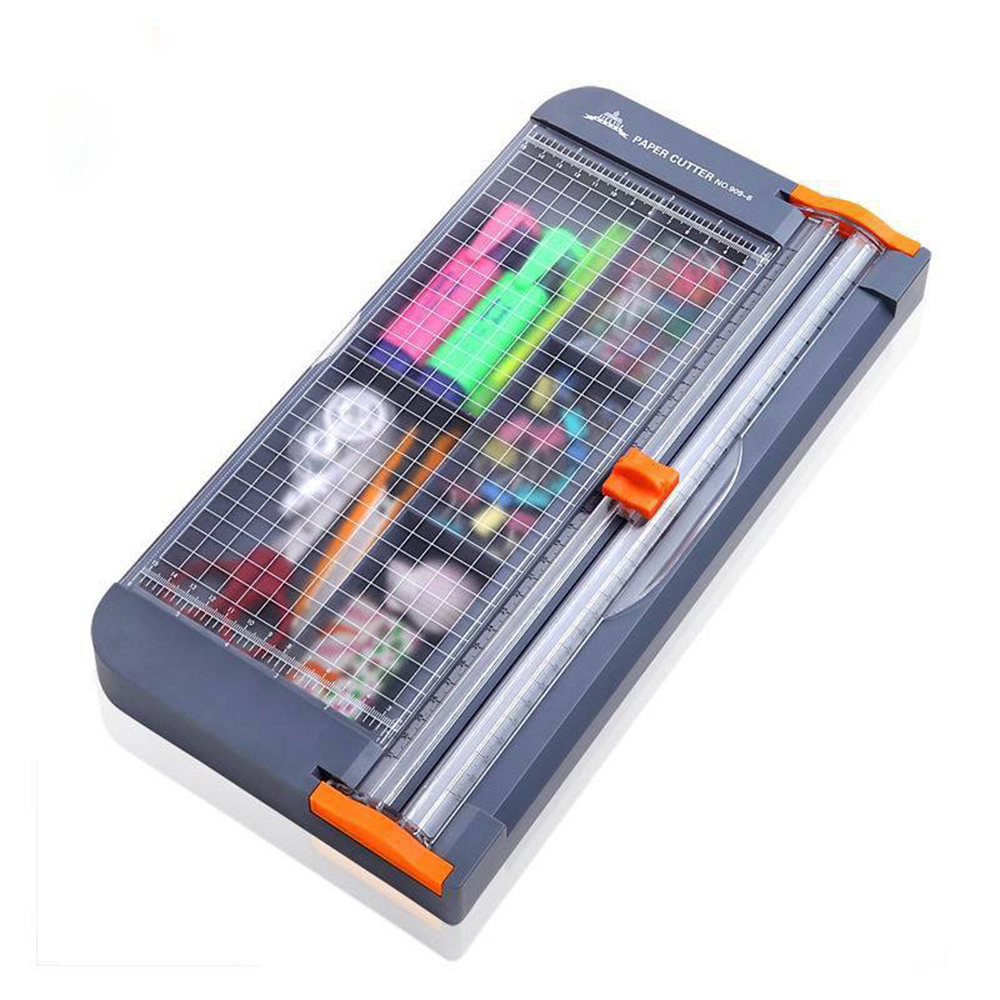 A4/A5 Paper Cutter Cutting Mat Machine with Storage Box Office Supplies Photo Label Art Painting Trimmer Scrapbooking Tool Ruler 4