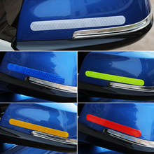 Car Stickers Rearview Mirror Reflective Tape For Great Wall Haval Hover H3 H5 H6 H7 H9 H8 H2 Emblem M4 Wingle 5 FOR chery lifan(China)
