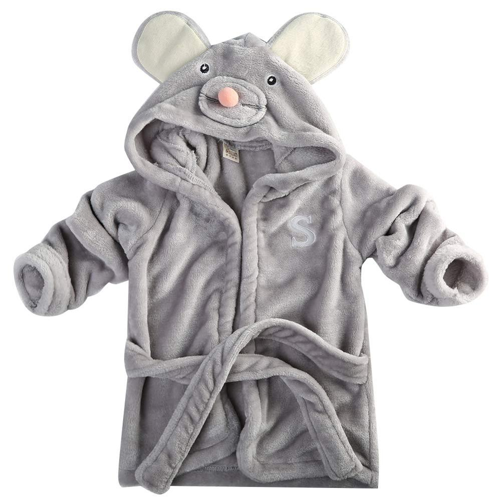 Baby Bath Towel Animal Bathrobe Coral Fleece Blanket Hooded Wrap Panda Animal Cartoon Cute Baby Bath Towel Bathrobe