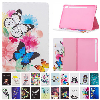 Luxury Magnetic Case For Samsung Galaxy Tab S6 10.5 inch T865 SM-T860 SM- T865 Smart Cover Funda Tablet PU Leather Stand Shell for samsung galaxy tab s6 10 5 sm t860 t865 case with pen holder pc silicone 3 layers anti fall tablet protector cover funda