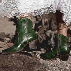 Oeak Women Boots Ankle Boots R