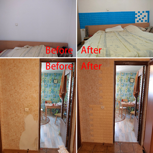 Image 5 - Pegatinas de pared 3D imitación de ladrillo para decoración de dormitorio papel tapiz autoadhesivo impermeable para sala de estar, cocina, TV, decoración de fondo