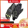 GHOST RACING мотоциклетные перчатки мужские летние перчатки для мотокросса из углеродного волокна дышащие Мотоциклетные Перчатки