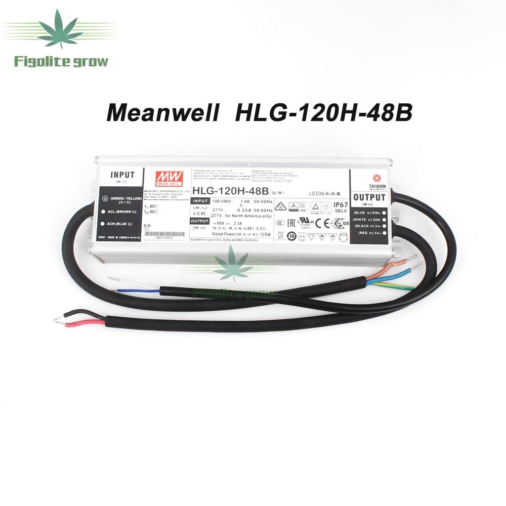 Meanwell Driver HLG-120H-48A/B,HLG-240H-48A/B,ELG-150-48A/B,ELG-240-48A/B Power Supply 120w/240wQuantum Tech LED Board