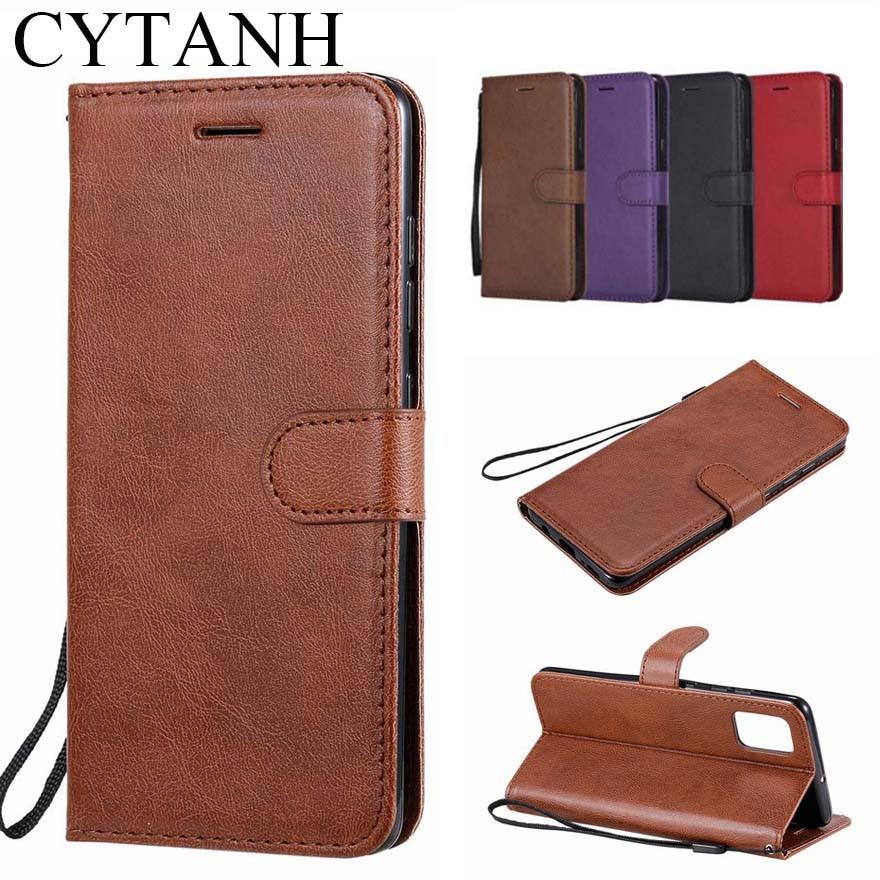 Funda billetera de lujo para Sony Xperia XA XA1 Ultra XA2 XA3, Funda de cuero de PU con tapa para teléfono con bolsillo para tarjetas