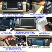 محول بلوتوث ABS ، أجزاء ملحقات السيارة ، لسيارات BMW E54 E39 E46 E38 E53