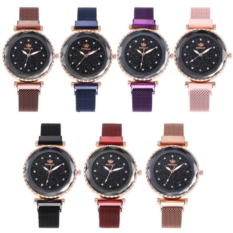 Characteristics With Series Bracelet Watch Stars Design Fashion Diamond-encrusted Bracelet Watch Joker Fashion Watches