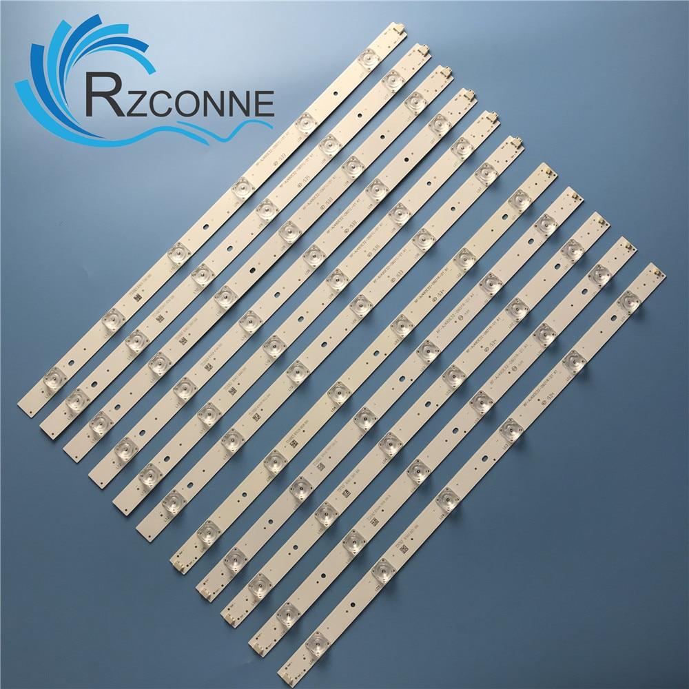 "LED Backlight Strip12 Lamp For Sharp 49""TV LC-49CFF5001K RF-AJ490E32-0601R-01 0601l A1 LY.45J01G001 LC-49CFE6032E LC-49CUF8472"