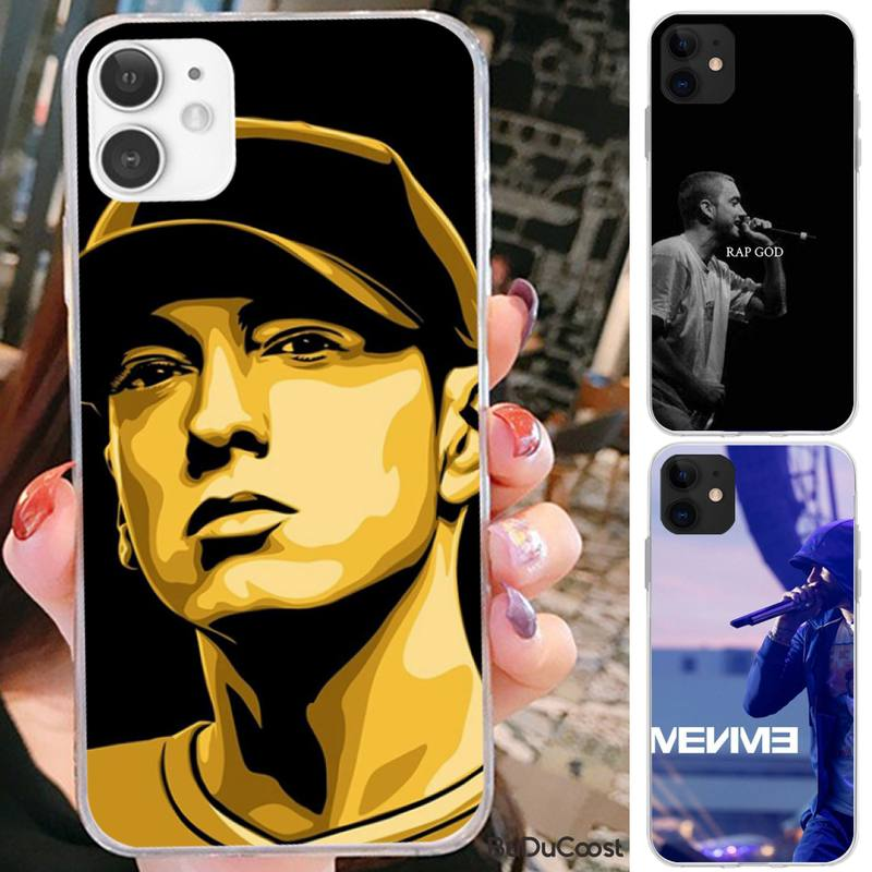 Reall Eminem rap god Phone Case For iPhone 7 8 Plus X XS Max XR Coque Case For iphone 5s SE 2020 6 6s 11Pro