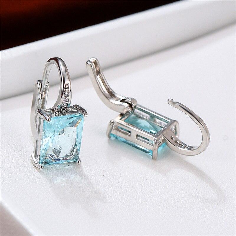 Silver Aqua Blue